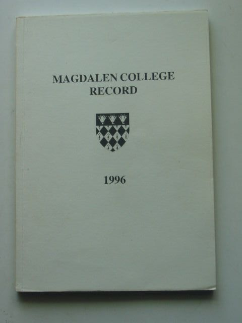 Photo of MAGDALEN COLLEGE RECORD 1996 (STOCK CODE: 1201335)  for sale by Stella & Rose's Books