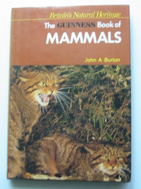 Photo of THE GUINNESS BOOK OF MAMMALS written by Burton, John A. illustrated by Vaughan, Jean published by Guinness Superlatives Ltd. (STOCK CODE: 1201427)  for sale by Stella & Rose's Books
