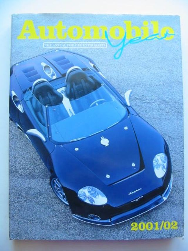 Photo of AUTOMOBILE YEAR No. 49 2001/2002- Stock Number: 1202020
