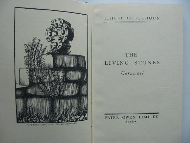 Photo of THE LIVING STONES CORNWALL written by Colquhoun, Ithell illustrated by Colquhoun, Ithell published by Peter Owen Limited (STOCK CODE: 1202132)  for sale by Stella & Rose's Books