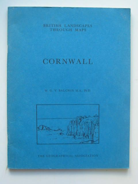 Photo of CORNWALL written by Balchin, W.G.V. published by The Geographical Association (STOCK CODE: 1202390)  for sale by Stella & Rose's Books