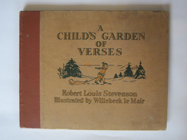 Photo of A CHILD'S GARDEN OF VERSES written by Stevenson, Robert Louis illustrated by Willebeek Le Mair, Henriette published by George G. Harrap & Co. Ltd. (STOCK CODE: 1202891)  for sale by Stella & Rose's Books