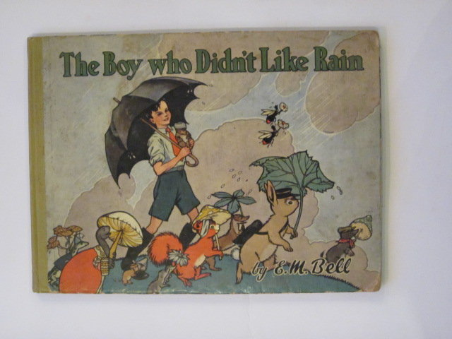 Photo of THE BOY WHO DIDN'T LIKE RAIN written by Bell, Edith M. illustrated by Freeman, Barbara C. published by Lutterworth Press (STOCK CODE: 1202918)  for sale by Stella & Rose's Books