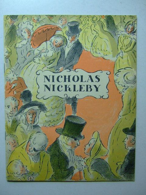 Photo of THE LIFE AND ADVENTURES OF NICHOLAS NICKLEBY- Stock Number: 1203263