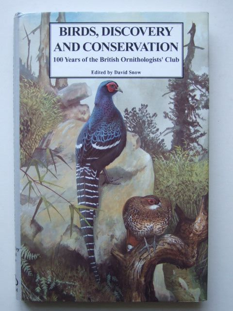 Photo of BIRDS, DISCOVERY AND CONSERVATION written by Snow, David illustrated by Woodcock, Martin W. published by Helm Information (STOCK CODE: 1203478)  for sale by Stella & Rose's Books