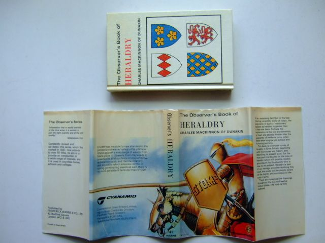 Photo of THE OBSERVER'S BOOK OF HERALDRY (CYANAMID WRAPPER) written by MacKinnon, Charles published by Frederick Warne & Co Ltd. (STOCK CODE: 1203485)  for sale by Stella & Rose's Books