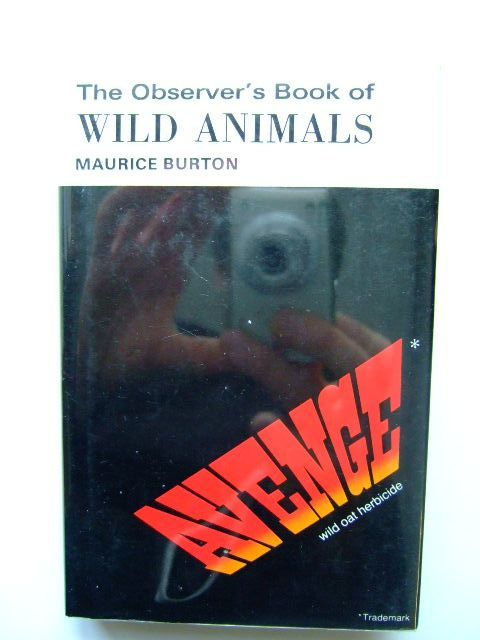 Photo of THE OBSERVER'S BOOK OF WILD ANIMALS (CYANAMID WRAPPER) written by Burton, Maurice published by Frederick Warne & Co Ltd. (STOCK CODE: 1203491)  for sale by Stella & Rose's Books