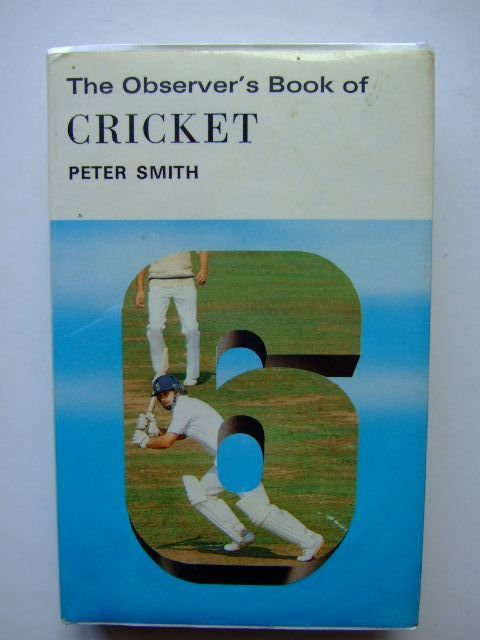 Photo of THE OBSERVER'S BOOK OF CRICKET (CYANAMID WRAPPER)- Stock Number: 1203494