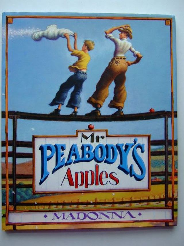 Photo of MR PEABODY'S APPLES written by Madonna,  illustrated by Long, Loren published by Puffin (STOCK CODE: 1203731)  for sale by Stella & Rose's Books