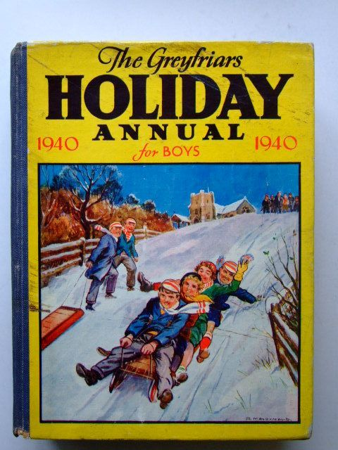 Photo of THE GREYFRIARS HOLIDAY ANNUAL 1940 written by Richards, Frank published by The Fleetway House (STOCK CODE: 1203760)  for sale by Stella & Rose's Books
