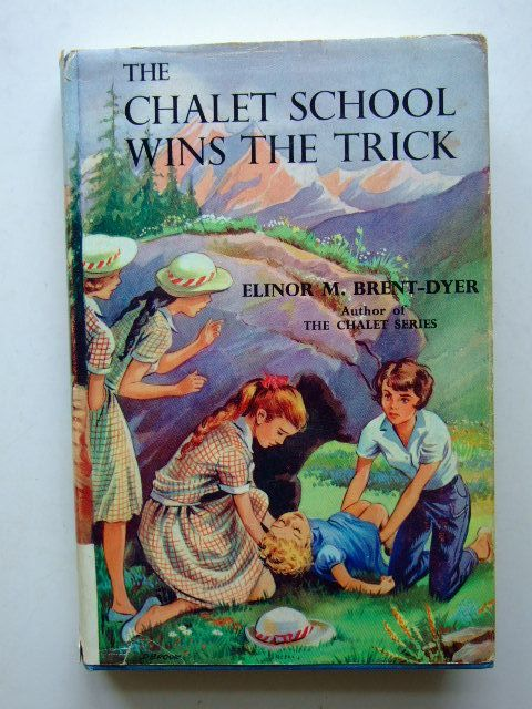 Photo of THE CHALET SCHOOL WINS THE TRICK written by Brent-Dyer, Elinor M. illustrated by Brook, D. published by W. & R. Chambers Limited (STOCK CODE: 1203934)  for sale by Stella & Rose's Books