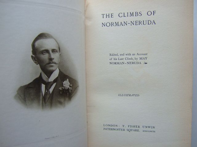 Photo of THE CLIMBS OF NORMAN-NERUDA written by Norman-Neruda, L. Norman-Neruda, May published by T. Fisher Unwin (STOCK CODE: 1204140)  for sale by Stella & Rose's Books