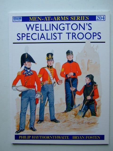 Photo of WELLINGTON'S SPECIALIST TROOPS written by Haythornthwaite, Philip illustrated by Fosten, Bryan published by Osprey Publishing (STOCK CODE: 1204228)  for sale by Stella & Rose's Books