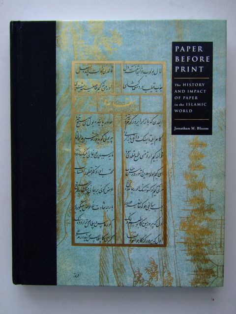 Photo of PAPER BEFORE PRINT written by Bloom, Jonathan M. published by Yale University Press (STOCK CODE: 1204478)  for sale by Stella & Rose's Books