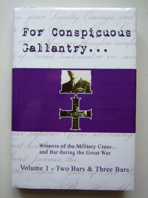 Photo of FOR CONSPICUOUS GALLANTRY VOLUME 1 TWO BARS & THREE BARS- Stock Number: 1204786