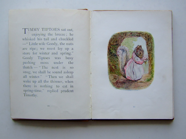 Photo of THE TALE OF TIMMY TIPTOES written by Potter, Beatrix illustrated by Potter, Beatrix published by Frederick Warne & Co. (STOCK CODE: 1204791)  for sale by Stella & Rose's Books