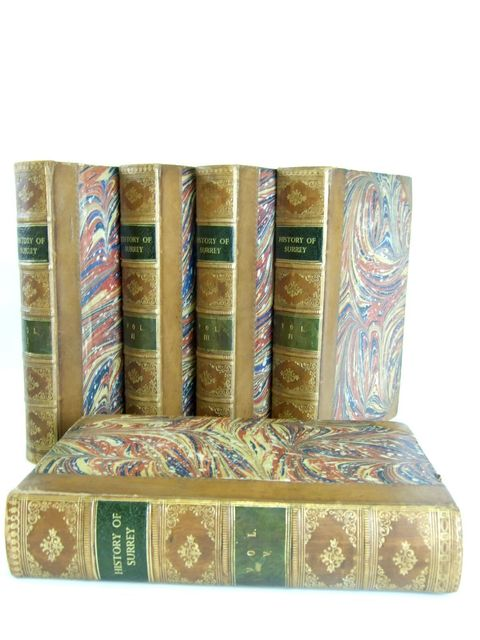 Photo of A TOPOGRAPHICAL HISTORY OF SURREY written by Brayley, Edward Wedlake