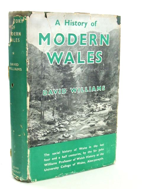 Photo of A HISTORY OF MODERN WALES written by Williams, David published by John Murray (STOCK CODE: 1205652)  for sale by Stella & Rose's Books