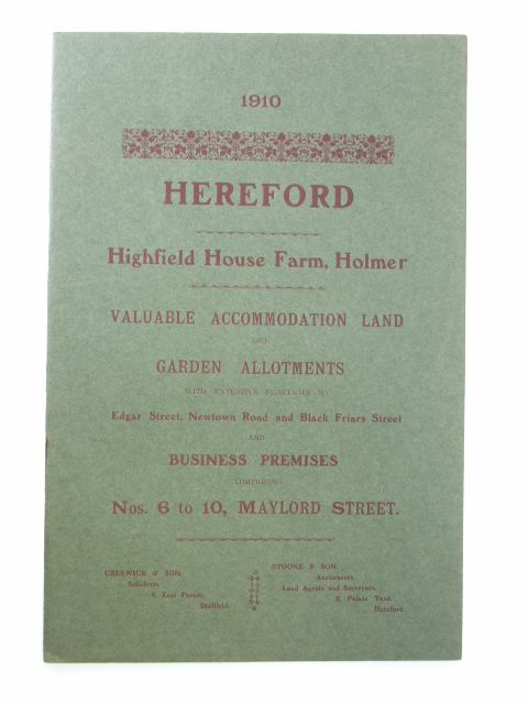 Photo of HIGHFIELD HOUSE FARM published by Messrs. Stooke And Son (STOCK CODE: 1205919)  for sale by Stella & Rose's Books