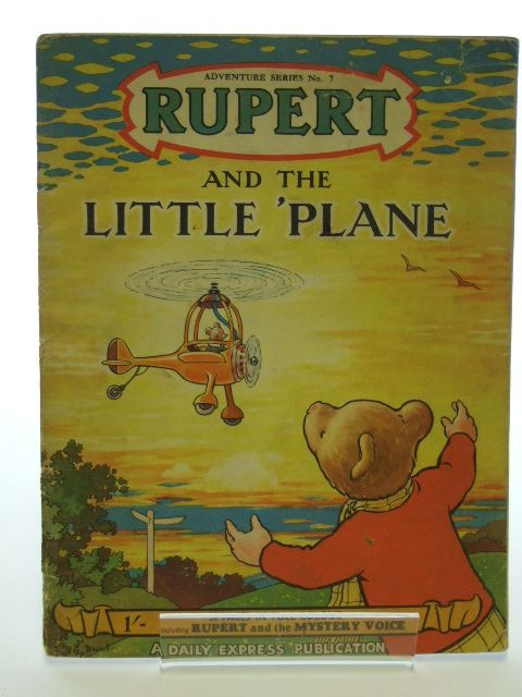 Photo of RUPERT ADVENTURE SERIES No. 7 - RUPERT AND THE LITTLE PLANE written by Bestall, Alfred illustrated by Bestall, Alfred published by Daily Express (STOCK CODE: 1205986)  for sale by Stella & Rose's Books