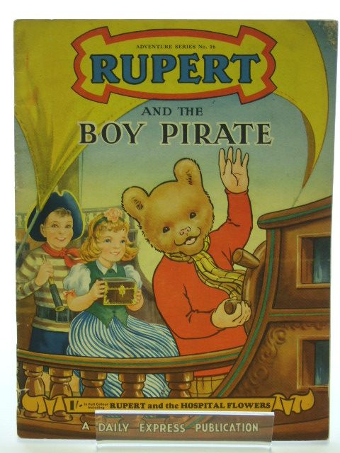 Photo of RUPERT ADVENTURE SERIES No. 16 - RUPERT AND THE BOY PIRATE- Stock Number: 1205995