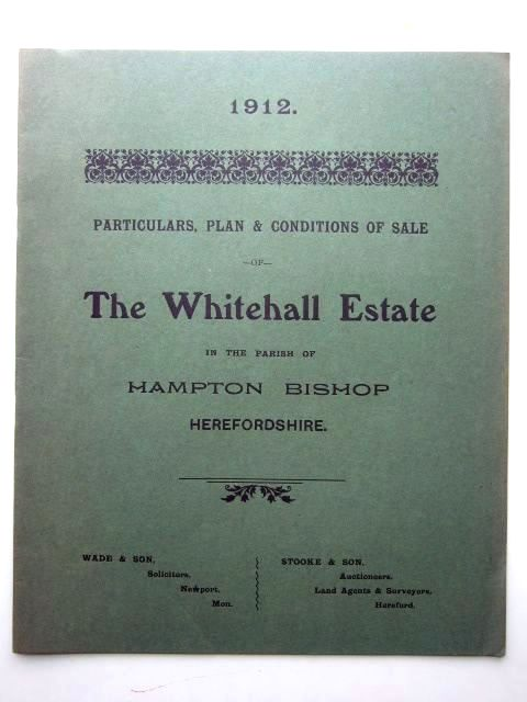 Photo of THE WHITEHALL ESTATE IN THE PARISH OF HAMPTON BISHOP HEREFORDSHIRE- Stock Number: 1206026