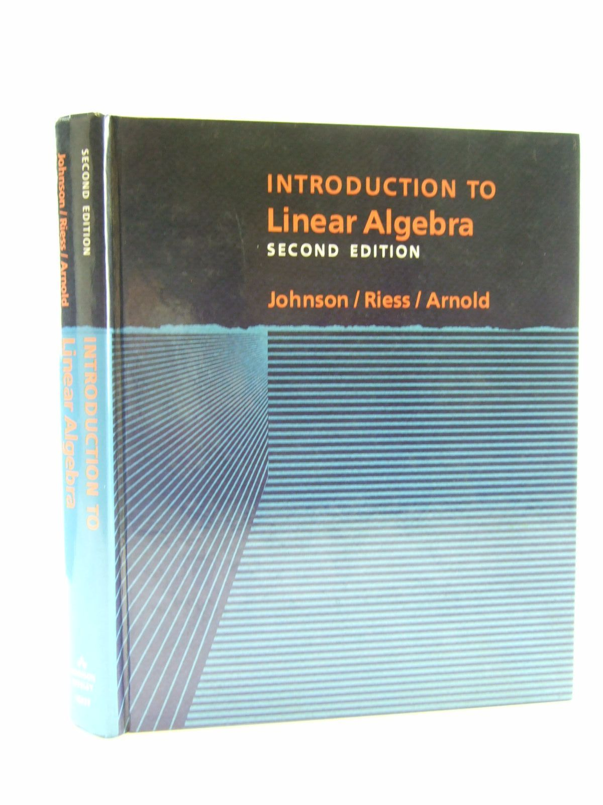 Photo of INTRODUCTION TO LINEAR ALGEBRA written by Johnson, Lee W. Riess, R. Dean Arnold, Jimmy T. published by Addison-Wesley (STOCK CODE: 1206429)  for sale by Stella & Rose's Books