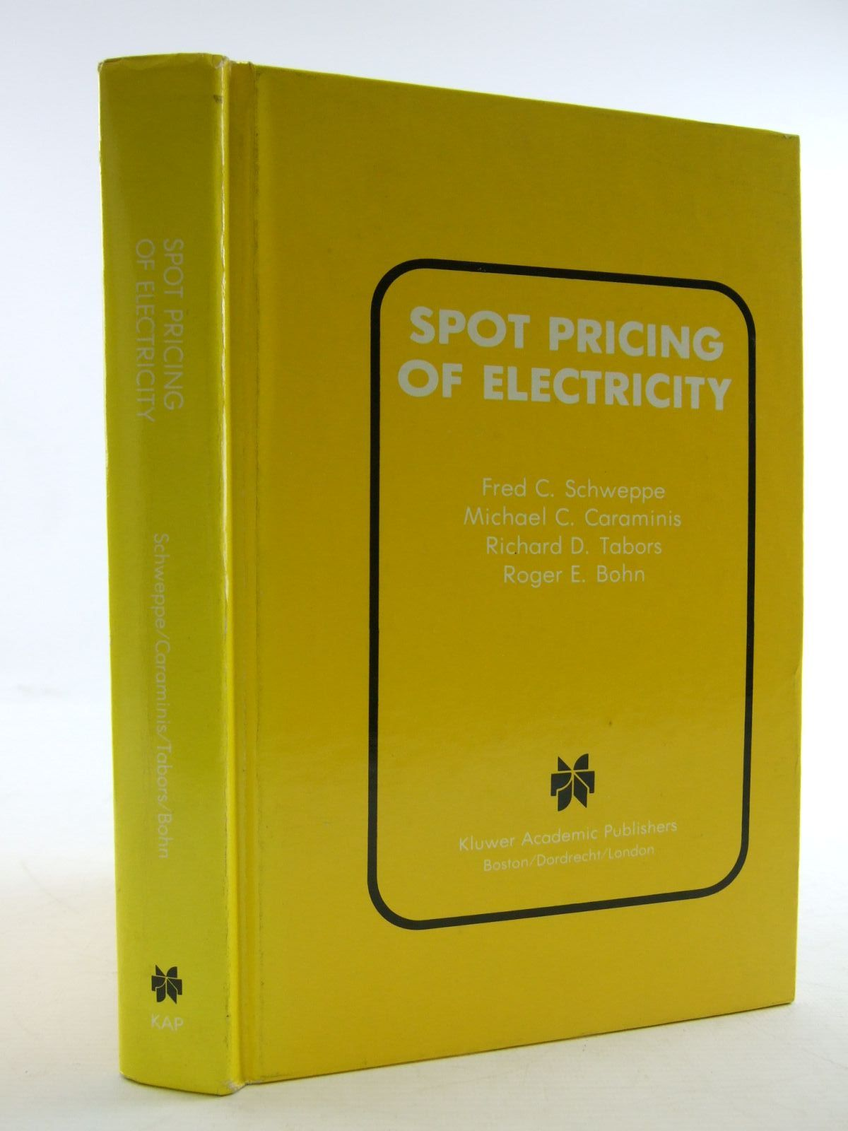 Photo of SPOT PRICING OF ELECTRICITY- Stock Number: 1206440