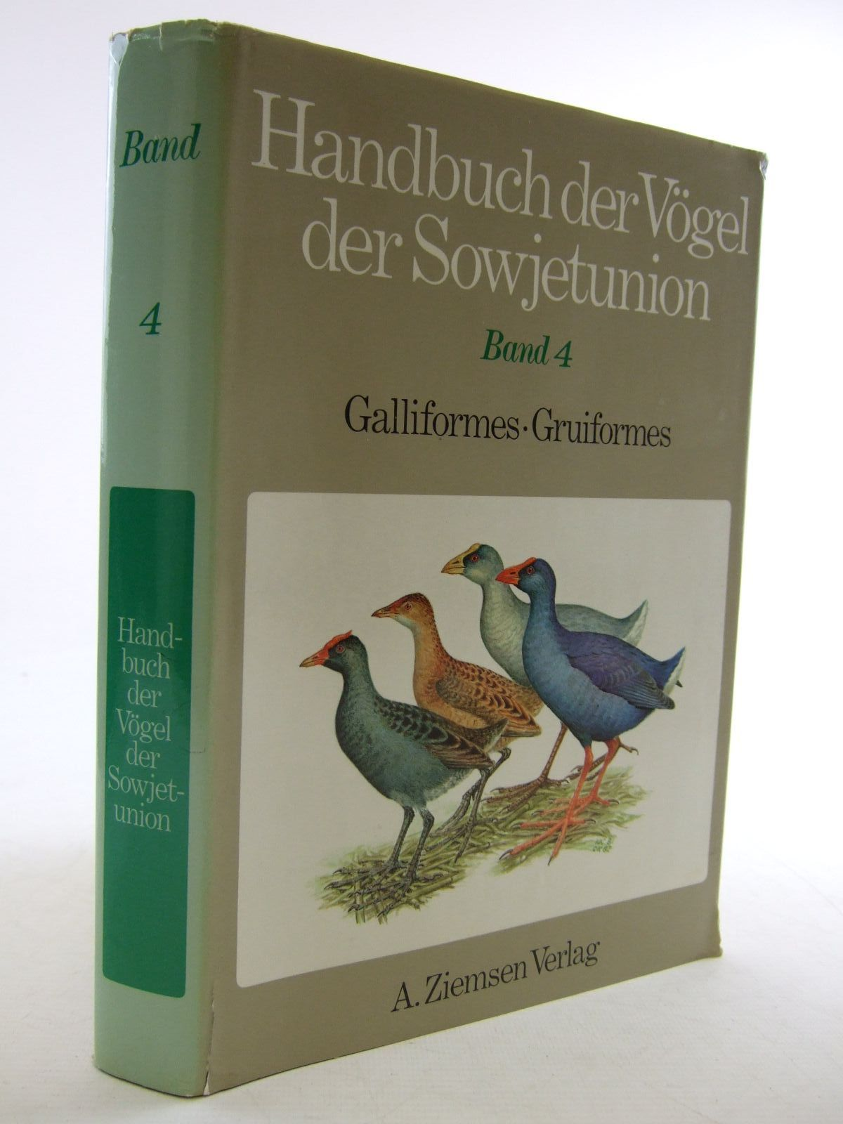 Photo of HANDBUCH DER VOGEL DER SOWJETUNION BAND 4 written by Potapov, R.L. Flint, V.E. published by A. Ziemsen (STOCK CODE: 1206635)  for sale by Stella & Rose's Books