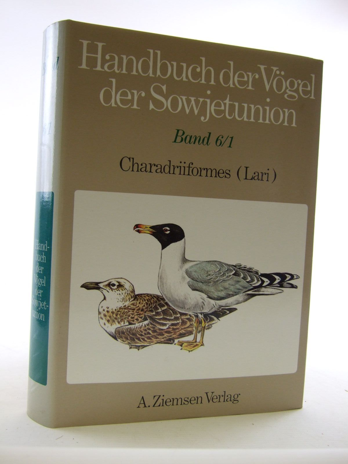 Photo of HANDBUCH DER VOGEL DER SOWJETUNION BAND 6/1 written by Il'Icev, V.D. Zubakin, V.A. published by A. Ziemsen (STOCK CODE: 1206637)  for sale by Stella & Rose's Books