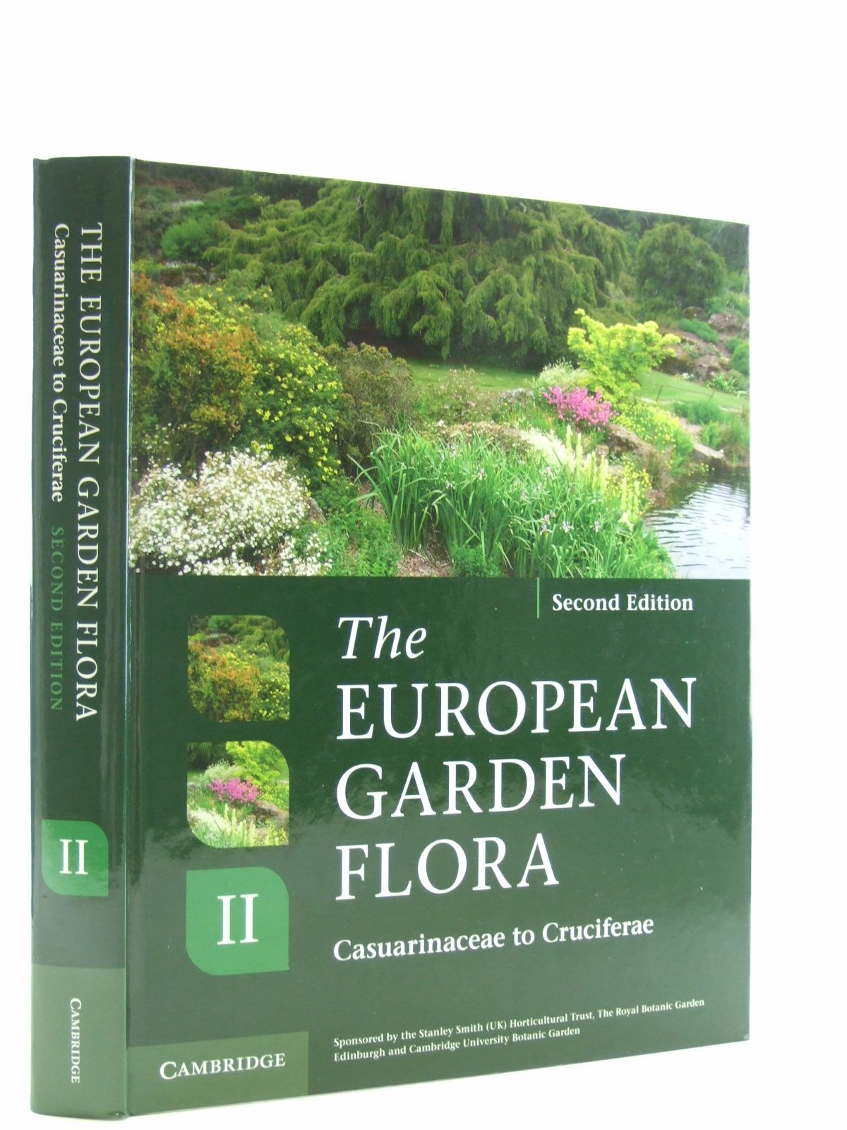 Photo of THE EUROPEAN GARDEN FLORA FLOWERING PLANTS VOLUME II written by Cullen, James<br />Knees, Sabina G.<br />Cubey, H. Suzanne<br />et al,  published by Cambridge University Press (STOCK CODE: 1207199)  for sale by Stella & Rose's Books