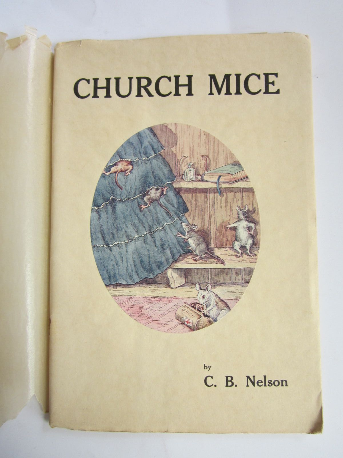 Photo of CHURCH MICE written by Nelson, C.B. illustrated by Nelson, Charles Burrard published by Figurehead (STOCK CODE: 1207322)  for sale by Stella & Rose's Books