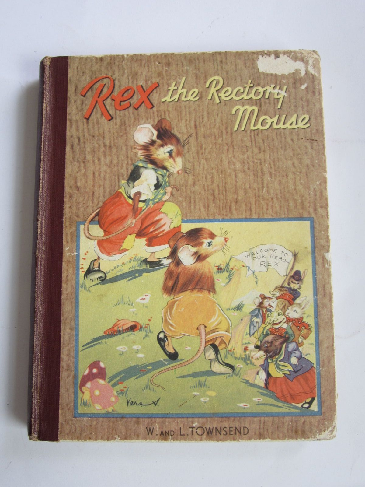 Photo of REX THE RECTORY MOUSE written by Townsend, W.<br />Townsend, L. illustrated by Rice-Jay, Vera published by The Thames Publishing Co. (STOCK CODE: 1207332)  for sale by Stella & Rose's Books