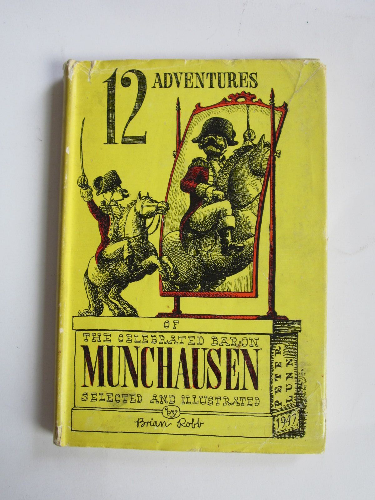 Photo of 12 ADVENTURES OF THE CELEBRATED BARON MUNCHAUSEN written by Robb, Brian illustrated by Robb, Brian published by Peter Lunn (STOCK CODE: 1207343)  for sale by Stella & Rose's Books