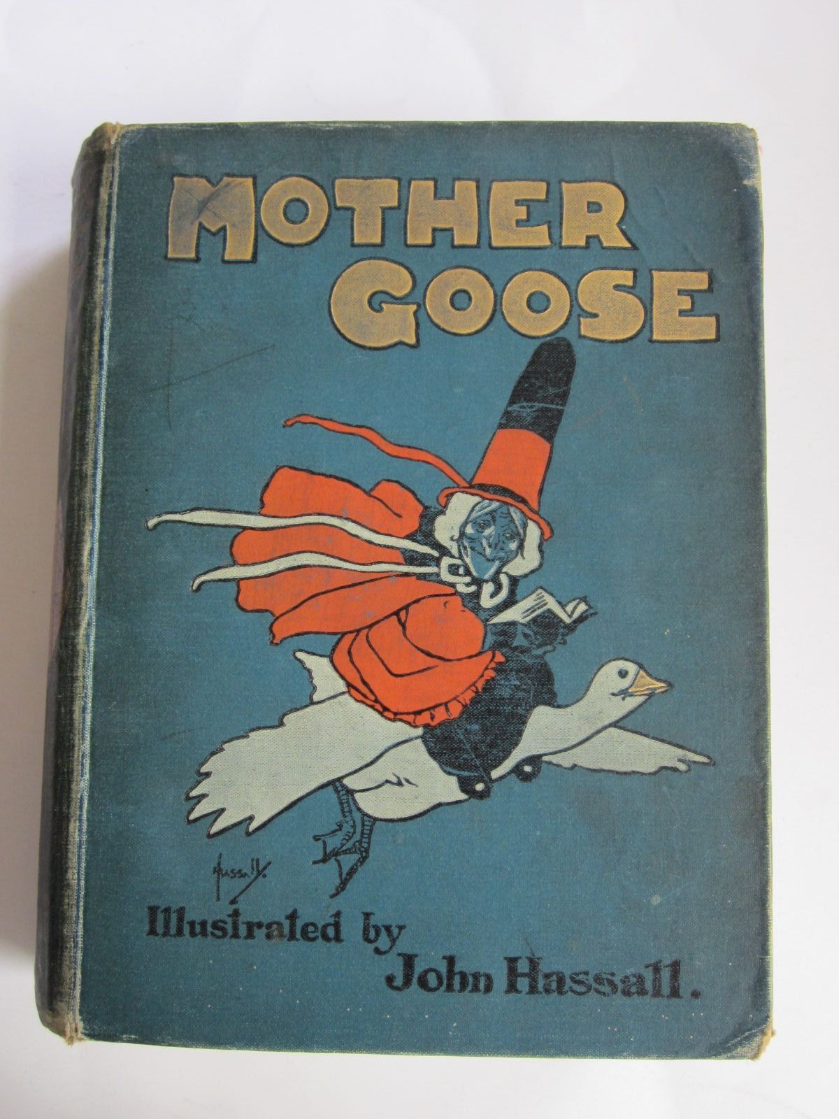 Photo of MOTHER GOOSE'S NURSERY RHYMES- Stock Number: 1207358