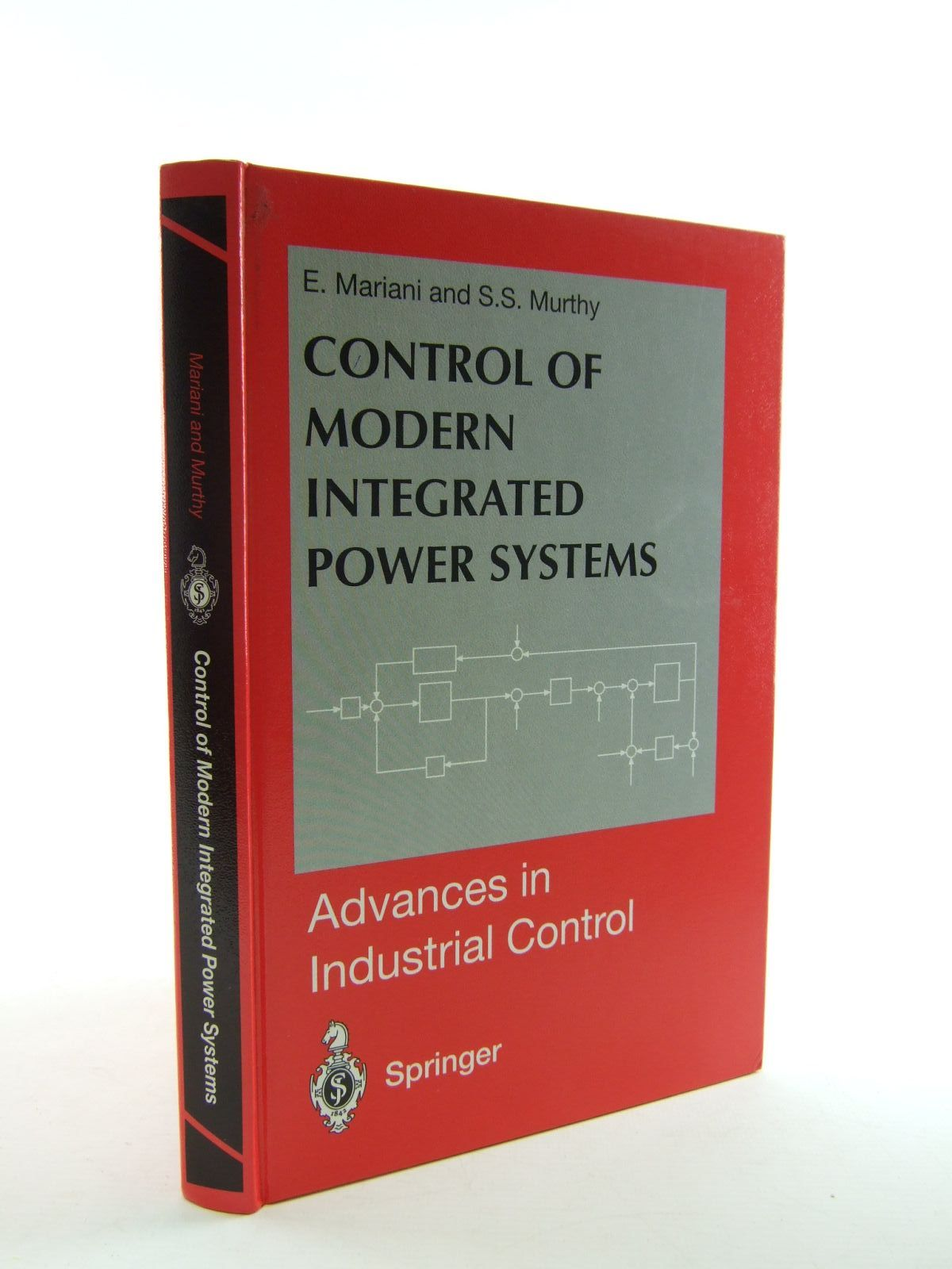 Photo of CONTROL OF MODERN INTEGRATED POWER SYSTEMS written by Mariani, E.<br />Murthy, S.S. published by Springer (STOCK CODE: 1207463)  for sale by Stella & Rose's Books