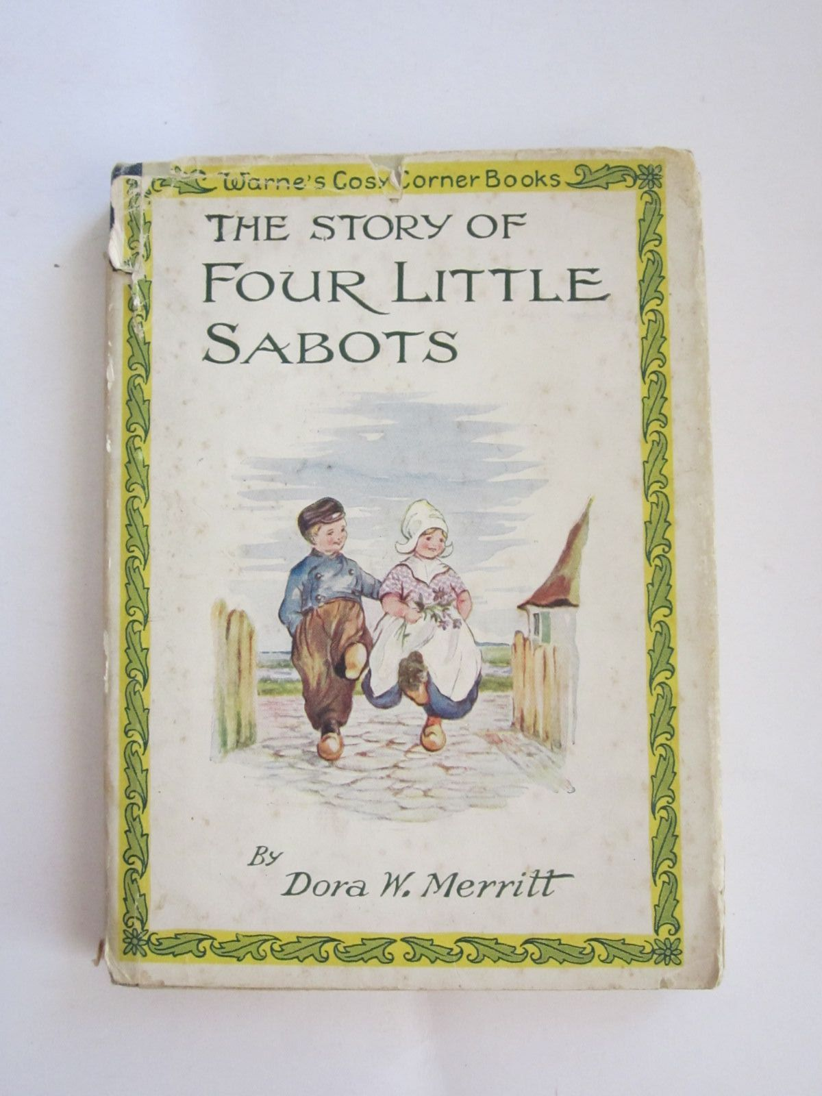 Photo of THE STORY OF FOUR LITTLE SABOTS written by Merritt, Dora W.<br />Pearsall, Dora W. illustrated by Merritt, Dora W. published by Frederick Warne &amp; Co Ltd. (STOCK CODE: 1207654)  for sale by Stella & Rose's Books