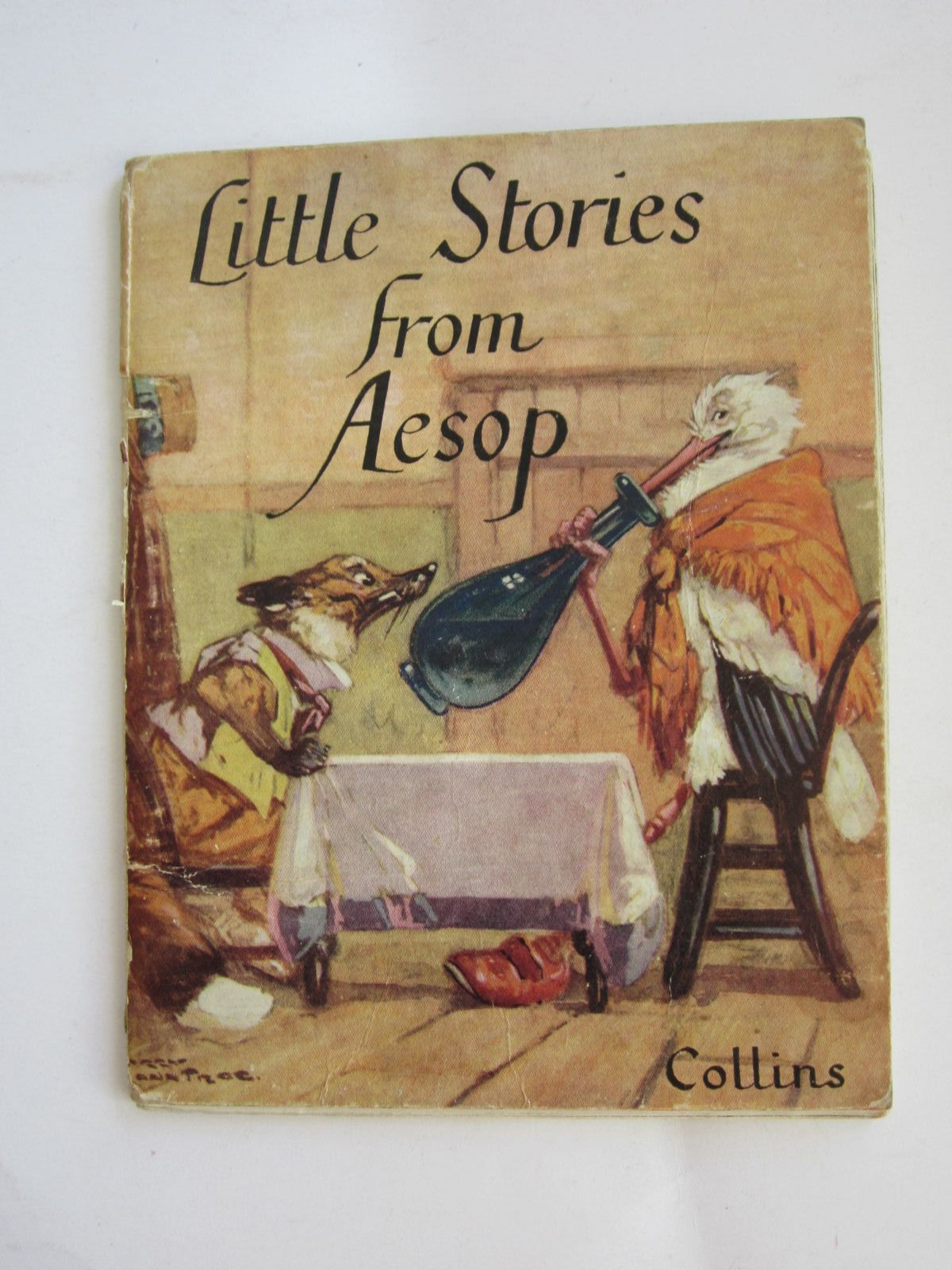 Photo of LITTLE STORIES FROM AESOP written by Aesop,  illustrated by Rountree, Harry published by Collins (STOCK CODE: 1207657)  for sale by Stella & Rose's Books
