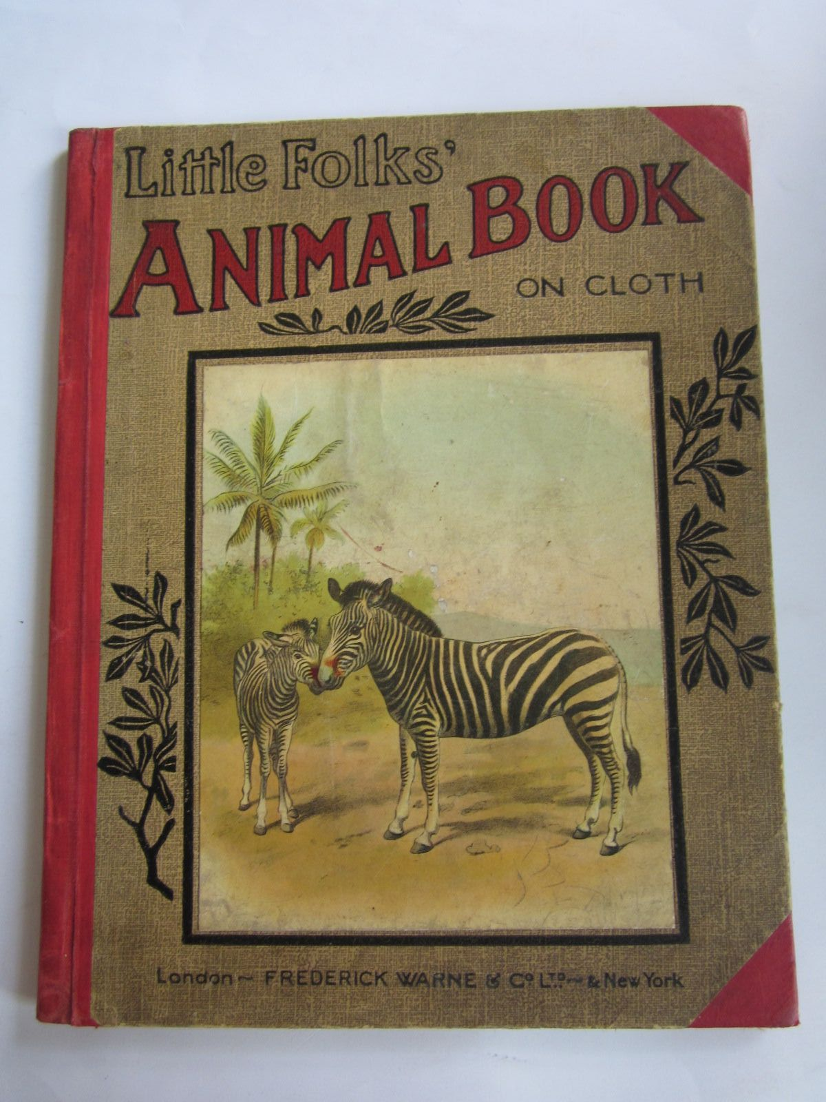 Photo of LITTLE FOLKS ANIMAL BOOK- Stock Number: 1207667