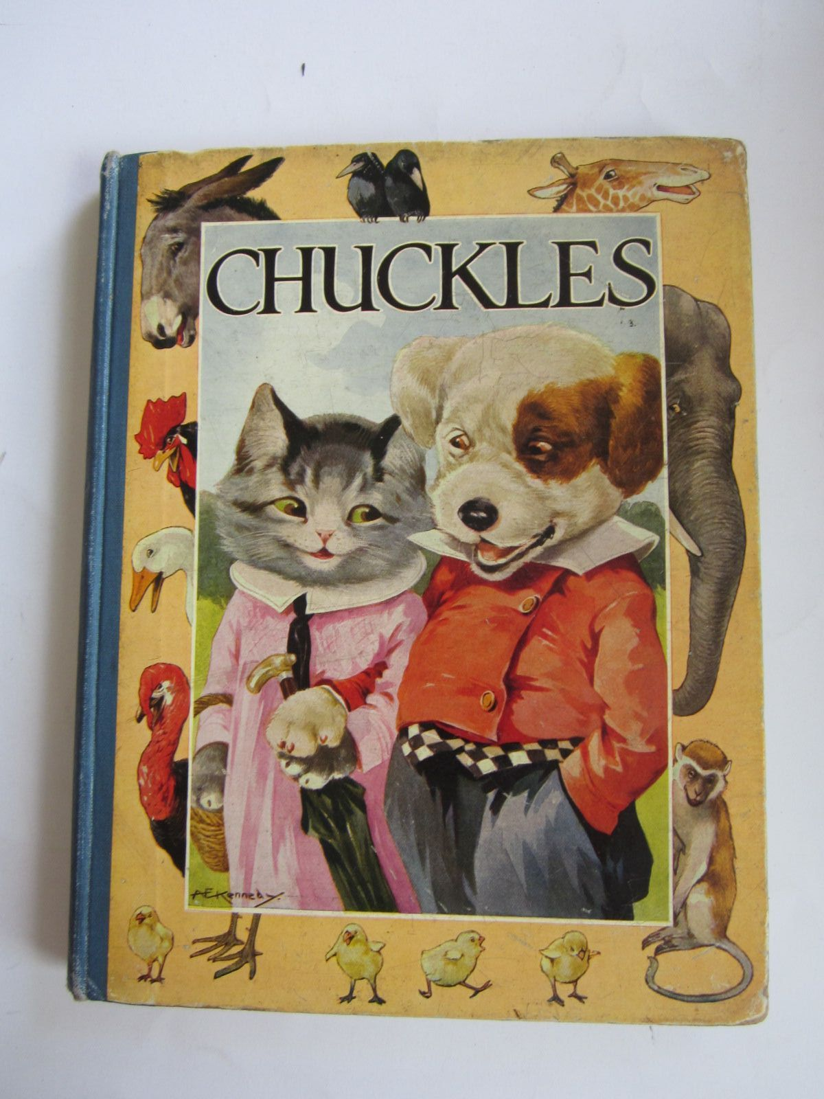 Photo of CHUCKLES written by Pope, Jessie illustrated by Kennedy, A.E. published by Blackie & Son Ltd. (STOCK CODE: 1207679)  for sale by Stella & Rose's Books