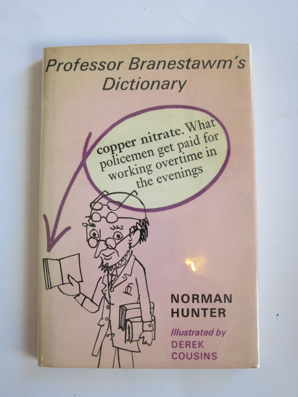 Photo of PROFESSOR BRANESTAWM'S DICTIONARY written by Hunter, Norman illustrated by Cousins, Derek published by The Bodley Head (STOCK CODE: 1207708)  for sale by Stella & Rose's Books