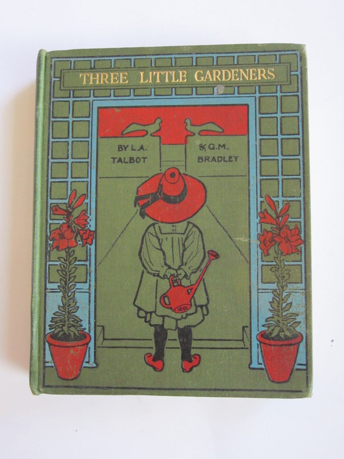 Photo of THREE LITTLE GARDENERS written by Talbot, L. Agnes illustrated by Bradley, Gertrude M. published by S.C. Brown, Langham & Company Ltd. (STOCK CODE: 1207719)  for sale by Stella & Rose's Books