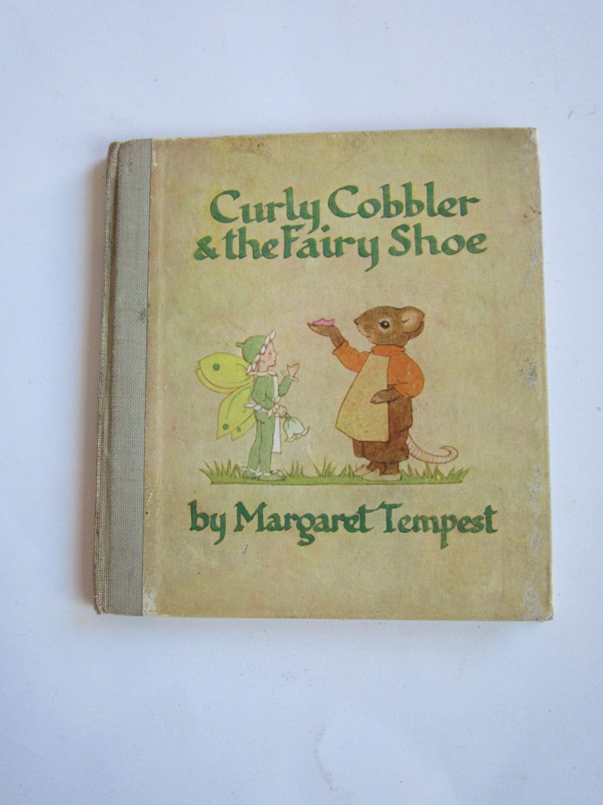 Photo of CURLY COBBLER AND THE FAIRY SHOE written by Tempest, Margaret illustrated by Tempest, Margaret published by Collins (STOCK CODE: 1207727)  for sale by Stella & Rose's Books