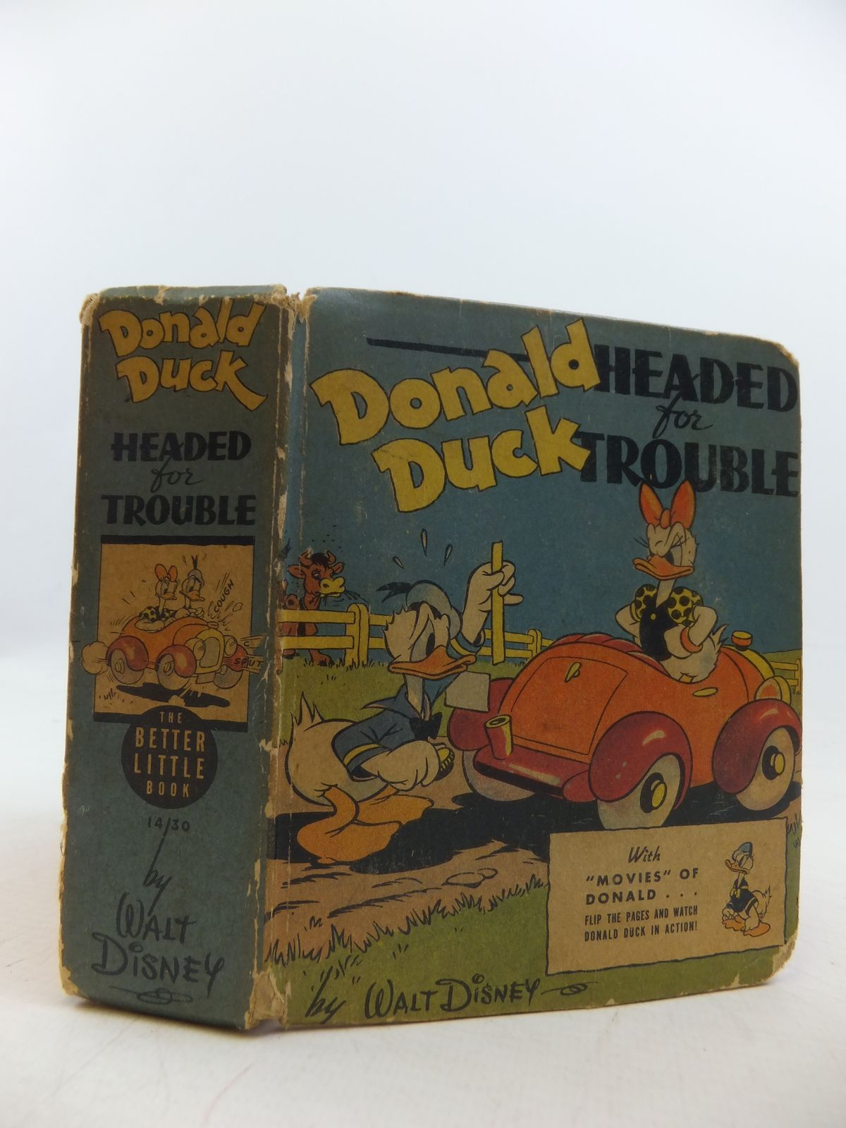 Photo of DONALD DUCK HEADED FOR TROUBLE written by Disney, Walt illustrated by Disney, Walt published by Whitman Publishing Company (STOCK CODE: 1207821)  for sale by Stella & Rose's Books