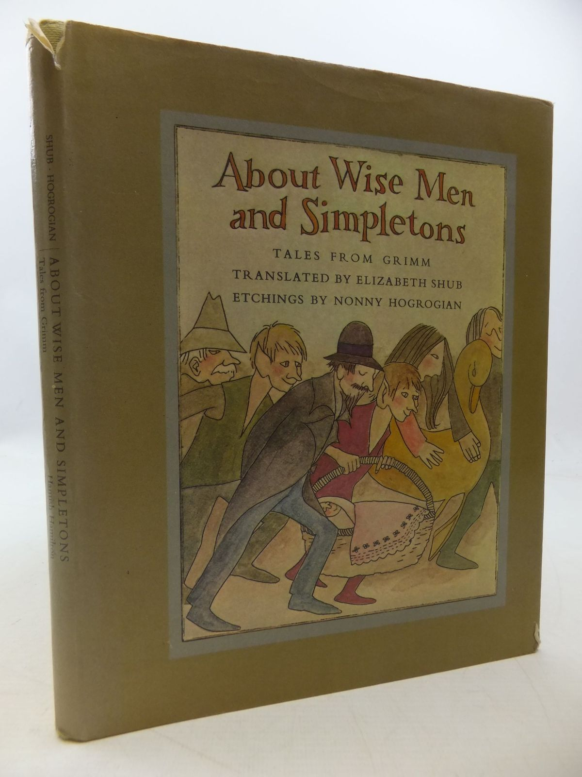 Photo of ABOUT WISE MEN AND SIMPLETONS written by Grimm, Brothers