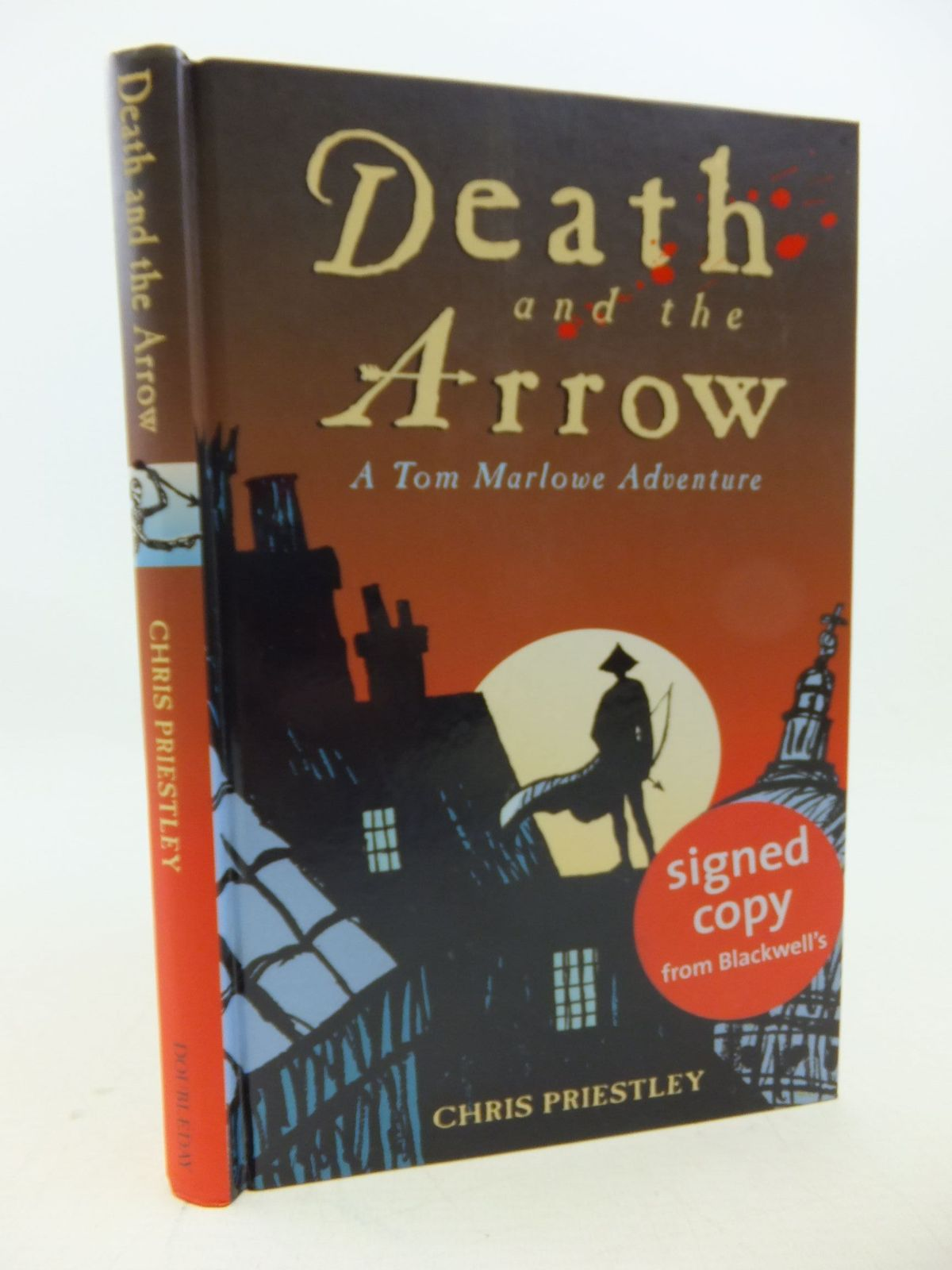 Photo of DEATH AND THE ARROW written by Priestley, Chris published by Doubleday (STOCK CODE: 1207925)  for sale by Stella & Rose's Books