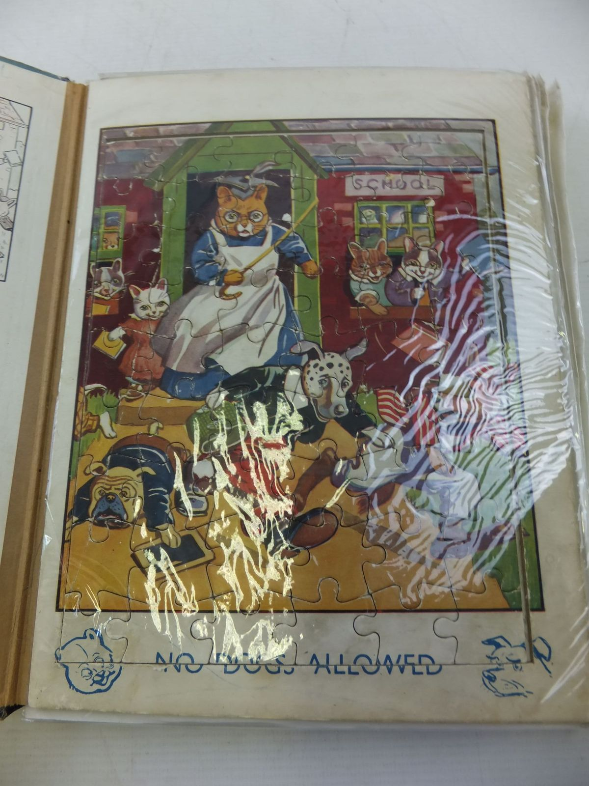 Photo of THE JOLLY JIG-SAW BOOK published by John Leng (STOCK CODE: 1207931)  for sale by Stella & Rose's Books