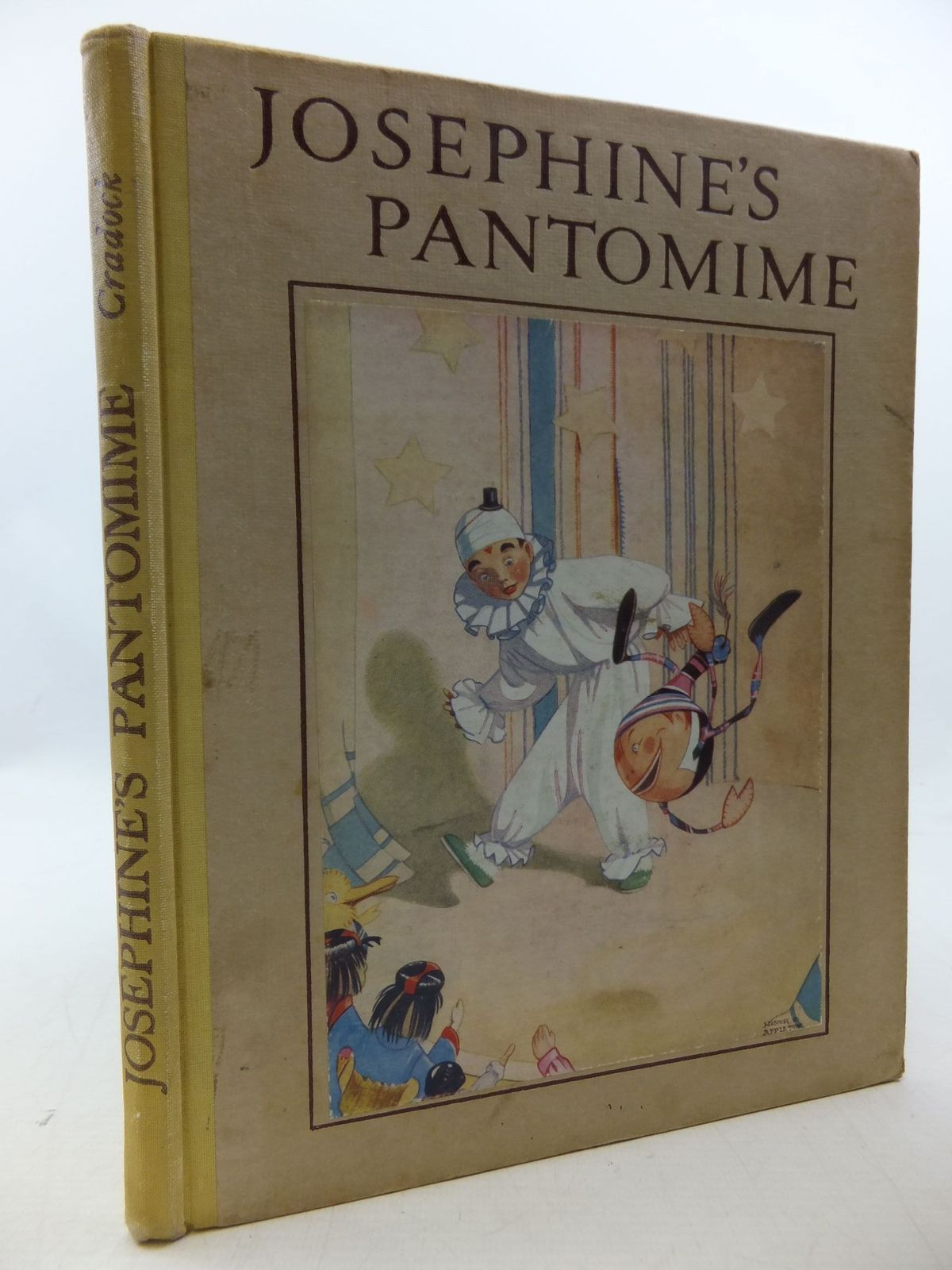 Photo of JOSEPHINE'S PANTOMIME written by Cradock, Mrs. H.C. illustrated by Appleton, Honor C. published by Blackie & Son Ltd. (STOCK CODE: 1207953)  for sale by Stella & Rose's Books