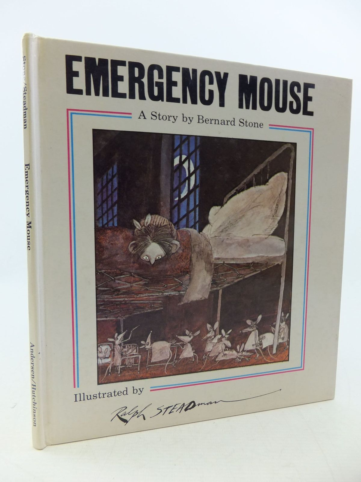 Photo of EMERGENCY MOUSE written by Stone, Bernard illustrated by Steadman, Ralph published by Andersen Press (STOCK CODE: 1207954)  for sale by Stella & Rose's Books