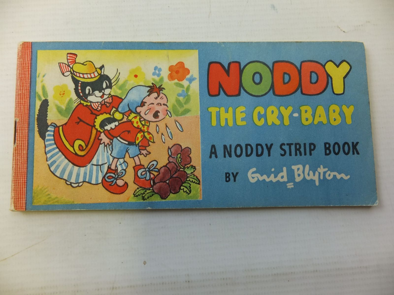 Photo of NODDY THE CRY-BABY written by Blyton, Enid illustrated by Beek,  published by Sampson Low, Marston & Co. (STOCK CODE: 1207982)  for sale by Stella & Rose's Books